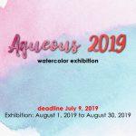 Aqueous 2019 (Watercolor Exhibition)