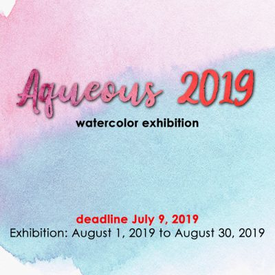 Aqueous 2019 (Watercolor Exhibition)