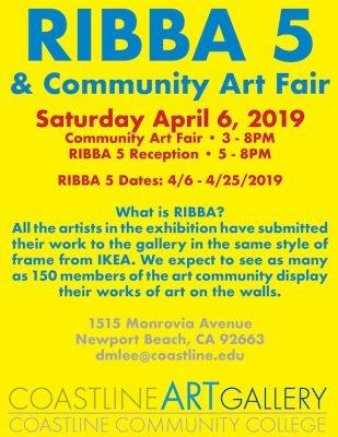 RIBBA 5 & Community Art Day