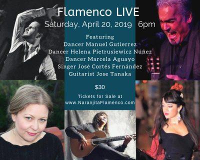 Flamenco LIVE at Naranjita Flamenco