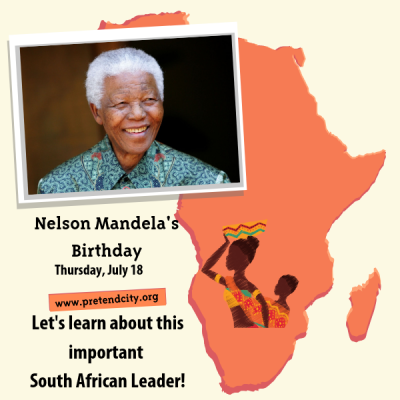 Celebrate Nelson Mandela's Birthday