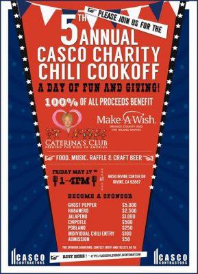 Casco Contractors Chili Cook Off