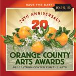 20th Anniversary Orange County Arts Awards