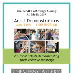 The heART of Orange County All Media 2019 Artist Demonstrations