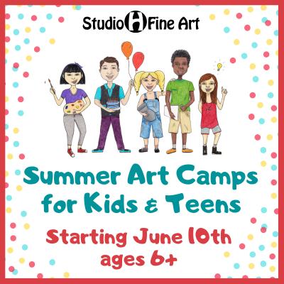 Summer Art Camp (Week 1)