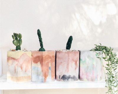 Pigmented Concrete Vessels