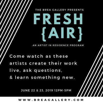 Fresh{AIR} An Artist-in-Residence Program