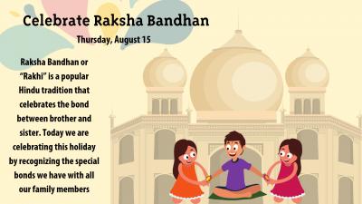 Celebrate Raksha Bandhan