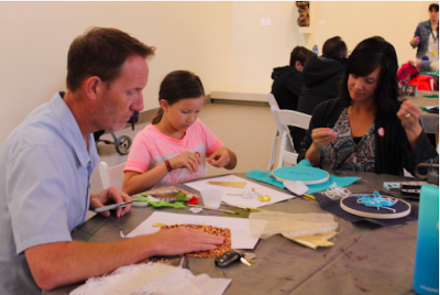 Family Fashion Workshop: Embroidery and Tie-making (Father's Day Special)