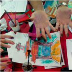 Anne's Treasures: Tissue Paper Painting