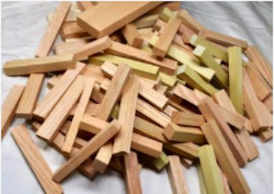 """Senior Art Escapes """"Abstract Wood Sculpture"""""""