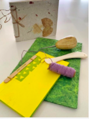 """Senior Art Escapes """"Learn Bookmaking"""" With Carla M..."""