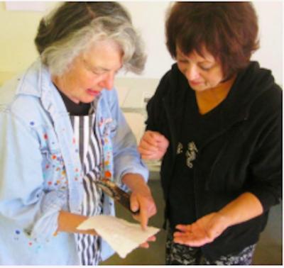Senior Art Escapes Open Studio with Mada Leach