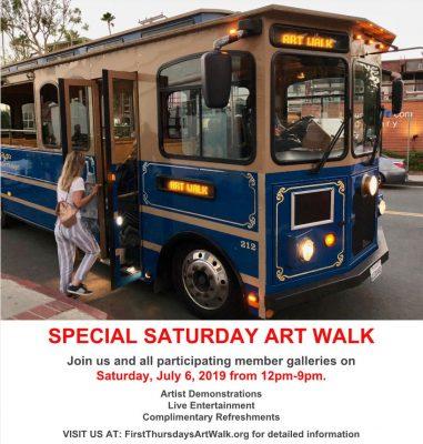 ArtWalk Laguna Beach - Saturday July 6th