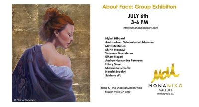 About Face: Artist Reception