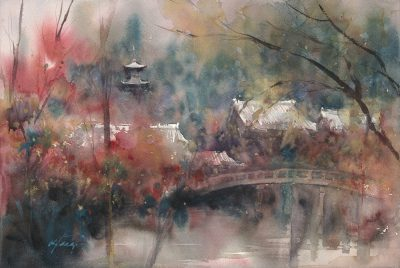 Keiko Tanabe Watercolor Demonstration