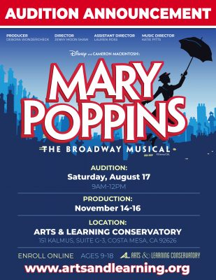Auditions: Mary Poppins