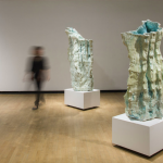 Otherworldly Glaciers (Ceramic sculpture by Mary Beierle)