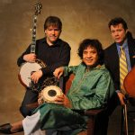 Bela Fleck, Zakir Hussain, and Edgar Meyer