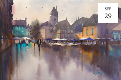 Entire Watercolor Demonstration Series