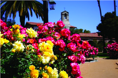 TEMPORARILY CLOSED:  Mission San Juan Capistrano Garden Tours
