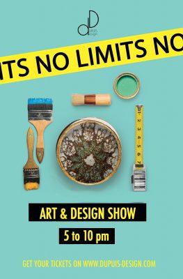 No Limits! A Night of Art + Design