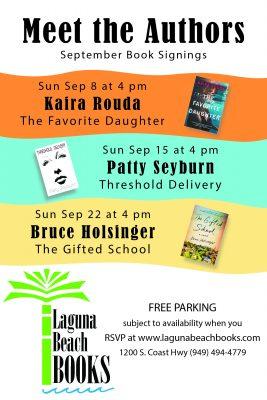 Laguna Beach Books Author Event Featuring Patty Seyburn