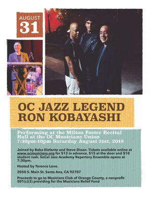 OC Legends of Jazz