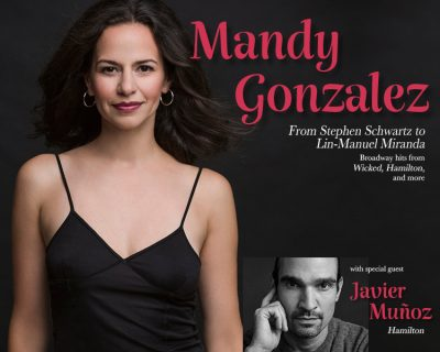 Hamilton star, Mandy Gonzalez at Irvine Barclay
