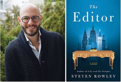 POSTPONED:  NBPLF's Library Live Series Presents Steven Rowley: The Editor