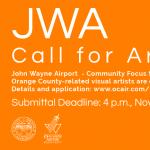 John Wayne Airport Call for Artists