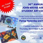 30th Annual John Wayne Airport Student Art Contest...