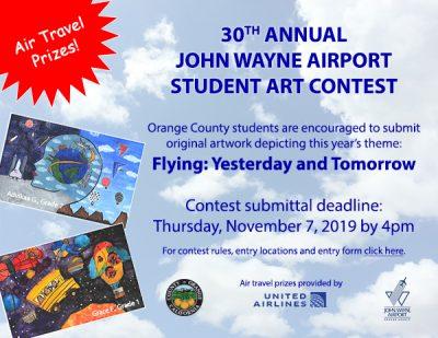 30th Annual John Wayne Airport Student Art Contest