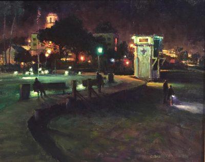 Plein Air Nocturne Painting Workshop