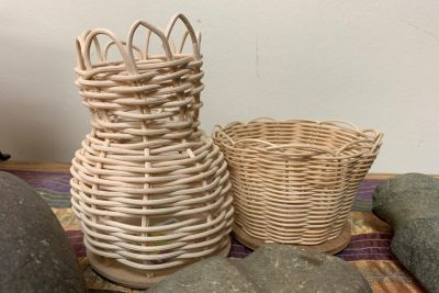 Kidseum Workshops at Bowers: Reed Baskets