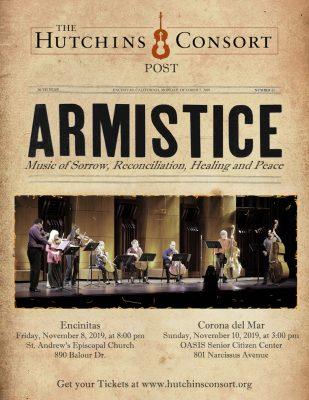 Hutchins Consort presents: Armistice