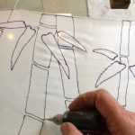 Silk Painting Class: learn the serti- technique.