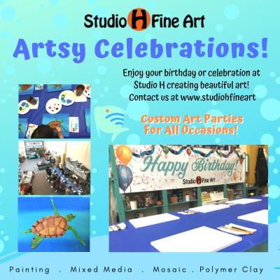 Birthdays & Celebrations At Studio H Fine Art