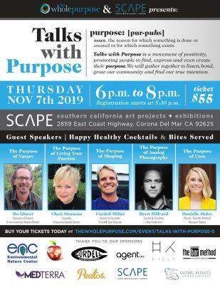 Talks with Purpose