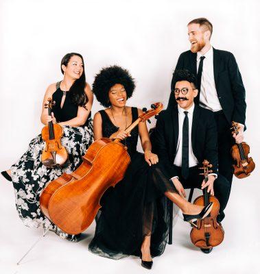 Thalea String Quartet with Pianist Michelle Cann