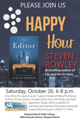 Happy Hour to Support Literacy Services