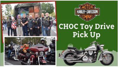 Harley-Davidson CHOC Toy Drive Pick-Up