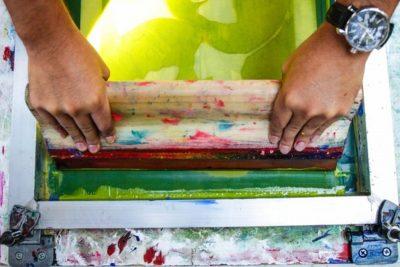 Mono-Silkscreen Stencil Workshop