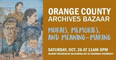 Orange County Archives Bazaar @ Hilbert Museum