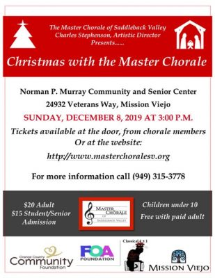 Christmas with the Master Chorale