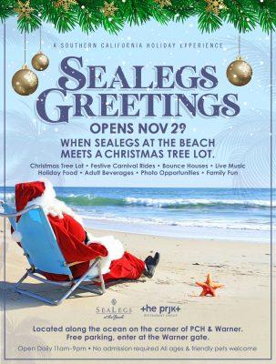SeaLegs Greetings on the Beach