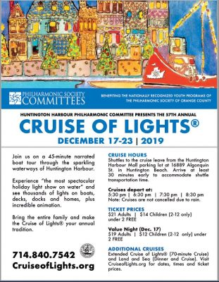 57th Annual Cruise of Lights® 2019