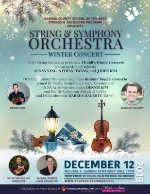 OCSA Symphony Orchestra performs Brahms' Double ...