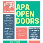 APA OPEN DOORS: A 2020 APA Open House Event