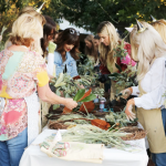 Holiday Wreath Making Workshop at Molly Wood Garden Design